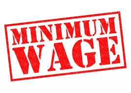 What is the minimum wage for 2017?