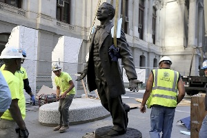 Philadelphia's 1st African American Statute