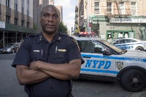 Monster cop sues NYPD for racial discrimination