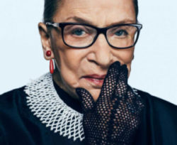 RBG On Trump and Sexual Harassment