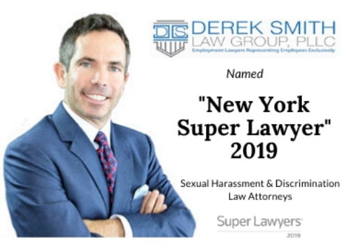 Derek Smith Law Group Named as a New York Super Lawyer for 2019