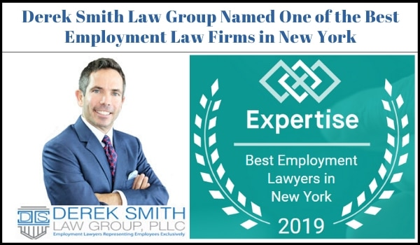 Derek Smith Law Group Named One of the Best Employment Law Firms in New York | Best Employment attorney New York City | Best Employment lawyer New York City | Best Employment attorney NYC |Best Employment lawyer NYC