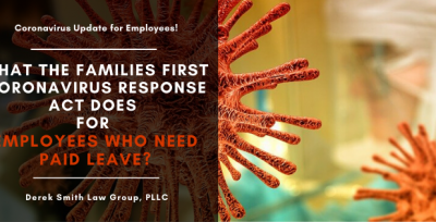 What the Families First Coronavirus Response Act Does for Employees Who Need Paid Leave?