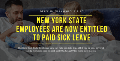 New York State Employees Are Entitled to Paid Sick Leave