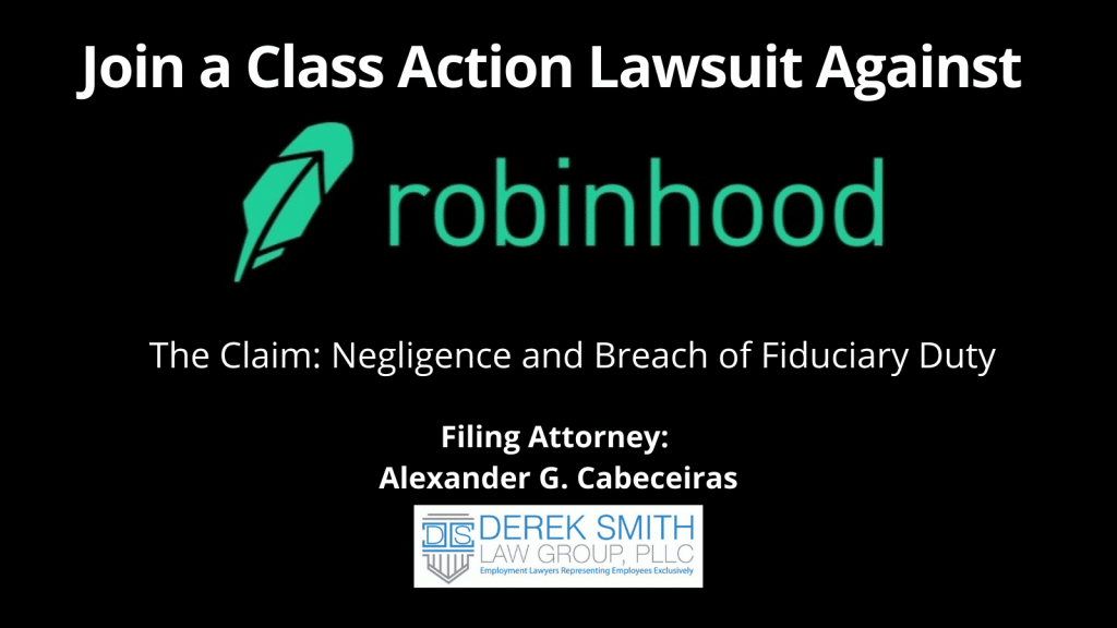 If you have a claim against Robinhood Financial, contact us to join the class-action lawsuit against them! #Robinhood #wallstreetbets #classaction #GameStop #RobinhoodApp #Reddit #classactionrobinhood #robinhoodlawsuit #wallstreet # AOC #SenTedCruz #Robinhoodscandal #Robinhoodrestrictions #RetailInvestors #RobinhoodMarketManipulation #IllegalMarketCrimes #Freetrade