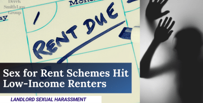Sex for Rent Schemes Hit Low-Income Renters