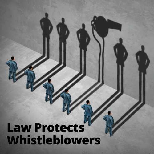 Whistleblower-law
