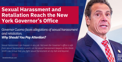 Sexual Harassment and Retaliation Reach the New York Governor's Office